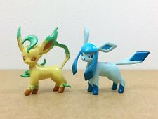 Pokemon Tomy Monster collection Glaceon Leafeon Set of 2