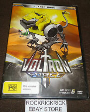 VOLTRON FORCE - PLANET DOOM DVD (6 EPISODES) (BRAND NEW SEALED)