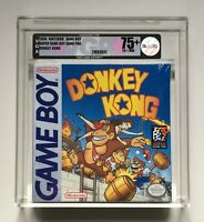 Donkey Kong Nintendo Game Boy VGA 75+ EX+/NM H-SEAM Factory Sealed Brand New