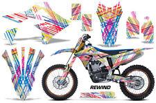 Suzuki RMZ450 Graphics Number Plate Bike Wrap Decal Sticker Kit 2018 REWIND
