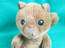 VINTAGE 1987 BROWN SQUIRREL DAKIN LOST HIS NET PLUSh STUFFED ANIMAL