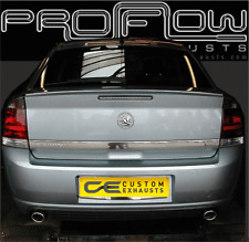 VAUXHALL VECTRA STAINLESS STEEL CUSTOM BUILT EXHAUST BACK BOX DUAL TAIL PIPES