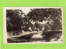Overbury Village Nr Tewkesbury RP pc unused Ref D478