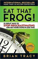 Eat That Frog! 21 Great Ways to Stop Procrastinating ( 2017, Digital)