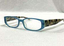 Eye Bobs Nice Pear 2211 Womens Rx Eyeglasses Blue Green Frame Tortoise Arms