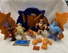 1992 Aladdin Cave Of Wonders Play Set Action Figures Lot