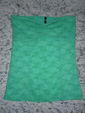 bustier vert d'eau en dentelle UNDIZ Taille S