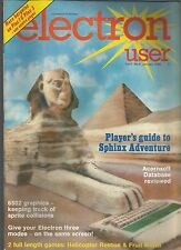 ELECTRON USER - VOL 3 NO 4 - JANUARY 1986 - MAGAZINE - (miss-printed as no 6)