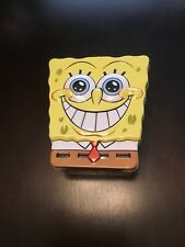 Spongebob Squarepants Head Shaped Carry All Tin Lunch Stationery Box