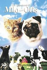 The Adventures of Milo and Otis DVD