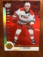2017-18 UD Hockey Series 1 Red Shining Stars Paralllel SSP! SSL-7 Jeff Skinner