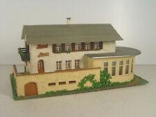 Hotel Flora   - Faller Gebäude HO Fertigmodell - #1601   #E - gebr.