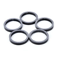 5Pcs 5mm Carbon Fiber Cycling Mountain Road Bike Headset Bicycle Spacer new RF
