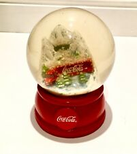 Coca Cola Christmas Snow Globe Truck In The Mountains 2015 Licensed Product