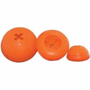 """Starmark Everlasting Bento Ball Medium Orange 3.5"""" x 3"""" x 3.5"""""""
