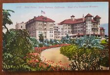 Hotel Potter * Santa Barbara * California * 1909 postcard