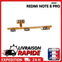 Nappe bouton ON OFF XIAOMI REDMI NOTE 8 PRO power  volume up down flex ribbon