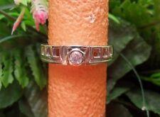 Pinkfarbener Kupfer Turmalin Ring, ungetragen, Gr. 20, 925er Sterlingsilber
