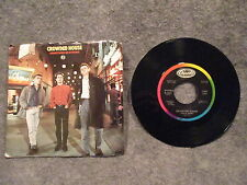"45 RPM 7"" Record Crowded House Something So Strong & I Walk Away Capitol B-5695"
