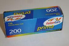 PRIMA 200 110 CAMERA COLOUR PRINT FILM - 24 EXPOSURES - EXPIRED 2004