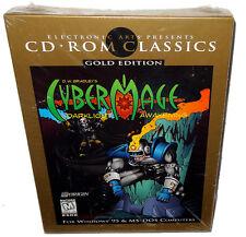 Cybermage Darklight Awakening Gold Edition Vintage Big Box PC Game Sealed 1996