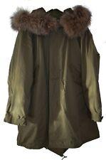 Classic M-1951 Mod Fishtail Parka Real Fur Hood