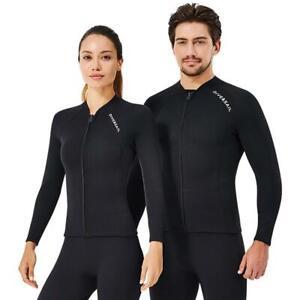 Man/Ladies Womens Full Length Steamer Summer Flatlock Wetsuit Surf Swim Top