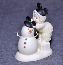 "DEPT. 56 SNOWBABIES ""BE LIKE MICKEY TOO!"" RETIRED 2007 WALT DISNEY"