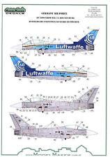 Model Maker Decals 1/48 EF 2000 EUROFIGHTER LUFTWAFFE 60th ANNIVERSARY SCHEME