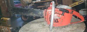 """Vintage Homelite Chainsaw Super XL Automatic 16"""" bar an chain runner"""