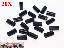 SK85 34 Stück schwarze TECHNIK Doppel Verbinder Pins schwarz 2780 unbespielt