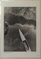 ANDRE STEINER CANOE 1935 LOUIS CHIRON EMILE TABARD 1929    DOCUMENT PHOTO