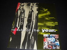 U2 Is The Band Of The Year 1992 Promo Poster Ad mint condition