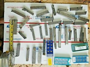 Lot of index Indexable Lathe Tool HOLDERS lot of various brands CNC &  carbide