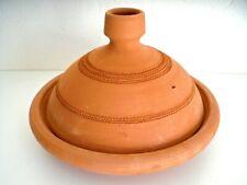 Plat a tajine tagine Marocain terre cuite naturelle 30 cm 5/6 personnes