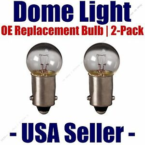 Dome Light Bulb 2-Pack OE Replacement - Fits Listed Opel Vehicles - 57