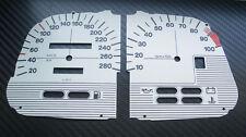 BMW K1100RS K75 weiße Tachoscheiben Tacho Gauge dial plates Ziffernblätter Set