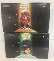 STAR WARS EPISODE 1 PLANET TATOOINE & NABOO  DARTH MAUL'S TACO BELL