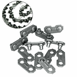 6pcs 3/8 0.063 Chainsaw Chain Joiner Link For Joining Chainsaw Parts Accessories