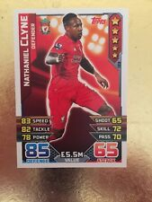 Match Attax Season 15/16 #133 Nathaniel Clyne- Liverpool  FC