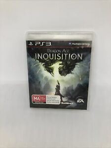 DRAGON AGE INQUISITION Sony Playstation 3 Complete PAL Game Very Good Condition