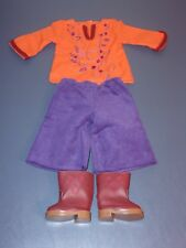 American Girl Julie's Casual Gauchos Outfit New In Box! Retired!