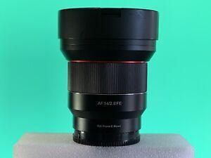 Samyang 14mm f2.8 AF for Sony e-mount