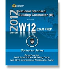 W12 National Standard  General Building Contractor Exam Questions Workbook ICC