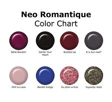 IBD Just Gel Nail Polish Neo Romantique Collection Set Of 8