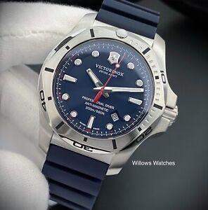 Victorinox I.N.O.X. Swiss Made 20ATM Professional Divers Watch 241734 Brand New