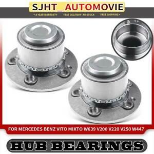 2x Bearing Hub for Mercedes Benz Vito Mixto W639 V200 V220 V250 W447 Front  Axle