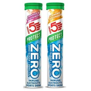 High5 Zero Protect Immune Electrolyte Sports Drink - Tube of 20 Tablets
