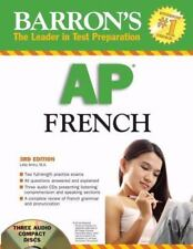 Barron's AP French 2008 with Audio CDs (Barron's How to Prepare for-ExLibrary