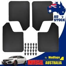4X Wide Body Car Van Mudflaps Mud Flaps Guard Fender Kit Universal W/Clips Rally